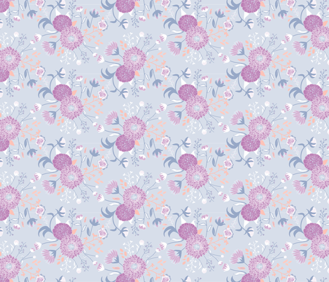 In bloom fabric by morsky on Spoonflower - custom fabric