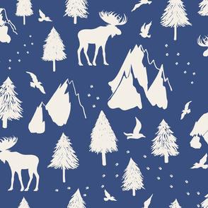 Moose Pass - Blue