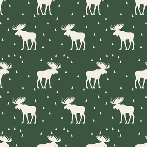 Moose Rows - Green