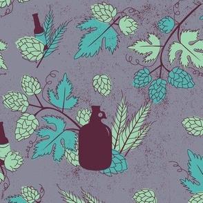 Vintage Beer Garden - Violet
