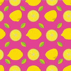 Slice of lemon - Pink