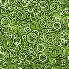 greenery ripple  rings
