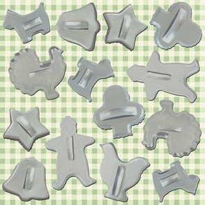 Cookie Cutter green