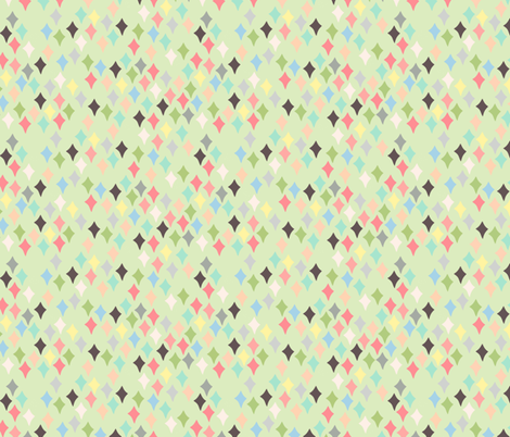 Confetti green fabric by heidikenney on Spoonflower - custom fabric