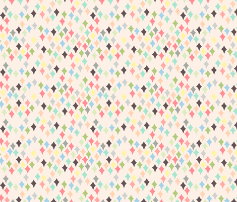 Confetti cream fabric by heidikenney on Spoonflower - custom fabric