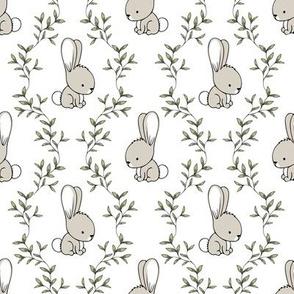 cute bunnies - easter spring - LAD19