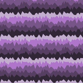 purple mountain ranges