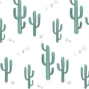 Small cacti - mint