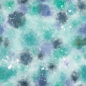 digital painting blobs and splatters