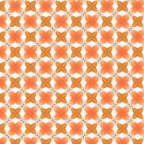 F-Coral Quatrefoil