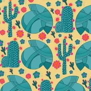 Desert Modernism Steel Cactus Tumblew
