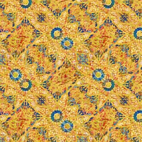 Golden Charm: Bias Weave