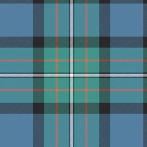 "Ferguson Ancient / Ferguson of Atholl tartan, 6"" faded colors"