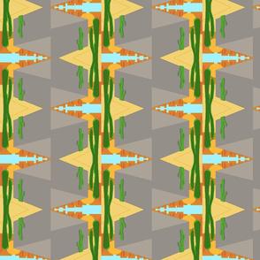 Abstract Modern Desert
