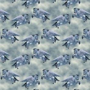 Custom Blue Roan Pegasus