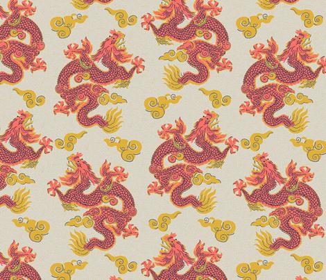 The Son of Heaven 1a fabric by muhlenkott on Spoonflower - custom fabric
