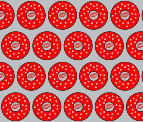 Rockabilly1 7.0 Half Brick Gray-ch fabric by betz on Spoonflower - custom fabric