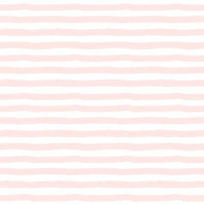 "8"" Painted White and Pink Stripes"