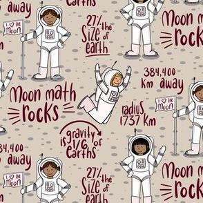 Moon Math Rocks