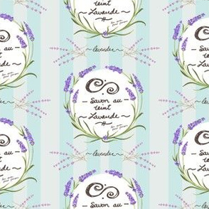 Lavender Soap Lable