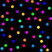Confetti on Black (large)