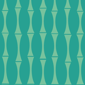 Modern Bamboo blue