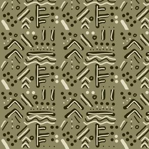 Naomi Animal African mudcloth print