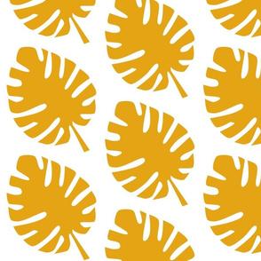 Warm Yellow Leaves