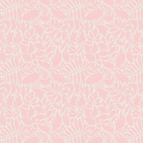 Abstract Pink Leaves