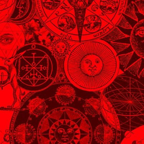 Alchemical Astrology Red