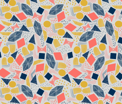 Limited Palette fabric by abbyjacdesigns on Spoonflower - custom fabric