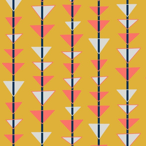 Trilateral Strands - Limited Color Pallet