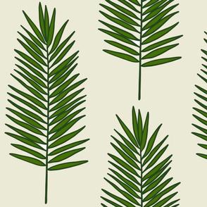 Leafy Palms (large)
