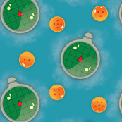 Dragon Radar with Dragon Balls
