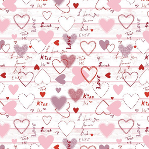Heart with love quotes