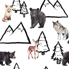Forest Animals - Large Scale