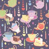 Tea Time Purple