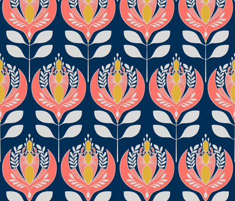 spoonflower challenge limited pallette jpeg for upload fabric by minty_jube on Spoonflower - custom fabric