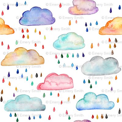 Rainclouds - smaller scale