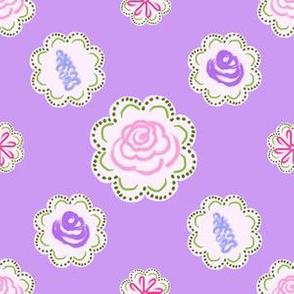 Garden Circles - Lavender