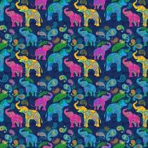 TINY ASIAN ELEPHANTS PINK