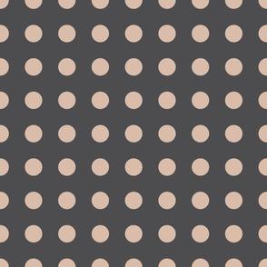 Geometric spots (raccoon)