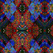 A Stained Glass Argyle Blend