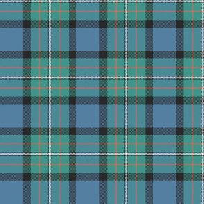 "Ferguson Ancient / Ferguson of Atholl tartan, 3"" faded colors"