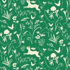 Bunny Prince (emerald) SML