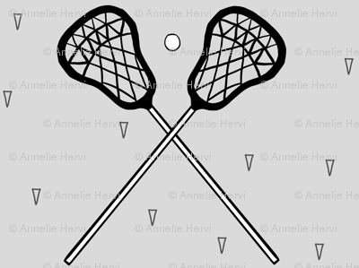 Lacrosse Gray small scale