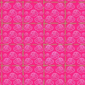 Garden Rose Lattice