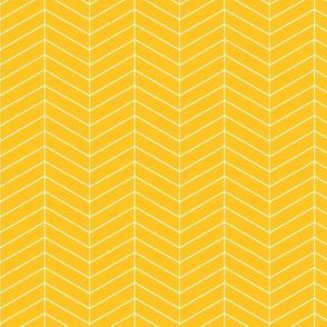 Skinny herringbone - gold  LAD19