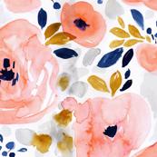 genevieve floral-half drop