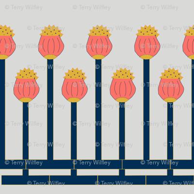 Limited Pallette Poppy Pods